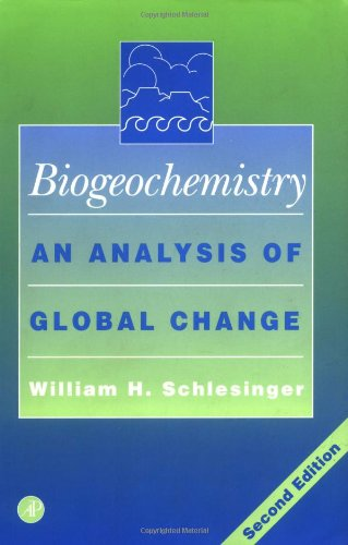 Biogeochemistry : An Analysis of Global Change