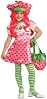 Girls Pink Deluxe Strawberry Shortcake Kids Costume S from Rubie's Costume Co