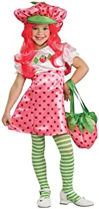 Deluxe Strawberry Shortcake Costume - Toddler from Rubie's Costume Co