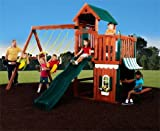 Englewood Wooden Swing Set