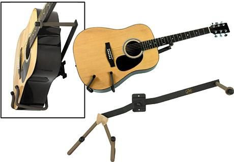 String Swing Horizontal Guitar Holder for Wide Bodied Instruments
