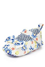 Floral Print Pram Shoes