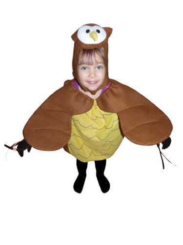 Fantasy World Boy's F68 Owl Costume (3t-5)
