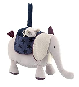 Moulin Roty Activity Plush Elephant, Boris