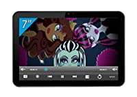 Monster High 7-inch Premium Tablet (ARM 1.2GHz Processor, 512MB RAM, 4GB Flash Memory, Dual Camera, Wi-Fi, ARM Mali-400MP Graphic Card, Android Jelly Bean 4.1) from Ingo Devices