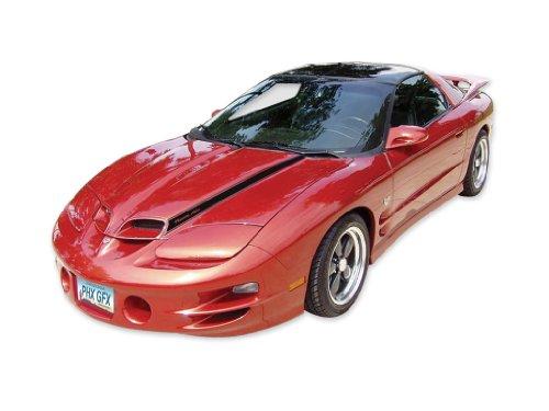1998 1999 2000 2001 2002 Ram Air Trans Am Formula Firebird Decals & Stripes Kit - BLACK (Ram Air Hood Firebird compare prices)