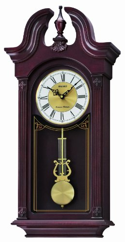 Seiko QXH058BLH Wall Chime Collection Pendulum Clock