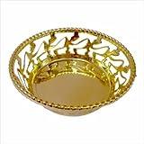 Wedding Gift Basket,Packaging Basket,Golden Basket,Fruit Packing Basket,Chocolate Gifting Basket.