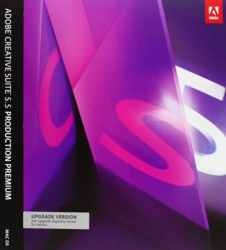 Adobe Creative Suite 5.5 Production Premium, Upgrade from any CS2 / CS3 Suite, Studio 8, Production Studio (Mac)
