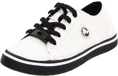crocs 11682 - Zapatillas de tela para niño, color blanco, talla 29/30
