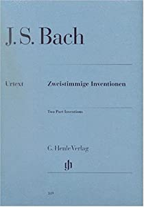 Two Part Inventions Bwv 772-786 - Piano - Hn 169 from G. Henle Verlag