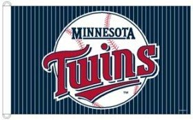 MLB Minnesota Twins WCR88831012 Team Flag, 3' x 5'