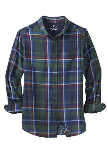 Kingsize Men 39 S Big Tall Holiday Flannel Shirt The Men