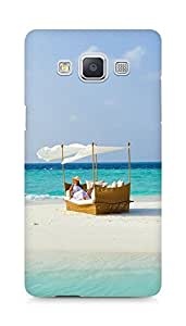 Amez designer printed 3d premium high quality back case cover for Samsung Galaxy A5 (Baros Maldives male attols best beach)