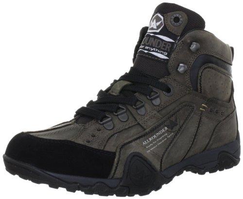Allrounder by Mephisto ANDOR P2002576, Sneaker uomo, Nero (Schwarz (BLACK/ANTHRACITE C.SUEDE 1/MOHAWK 52)), 42
