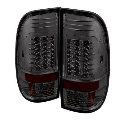 Spyder Auto 111-Ff15097-Led-G2-Sm Led Tail Lights - Smoke Lens/Chrome Housing
