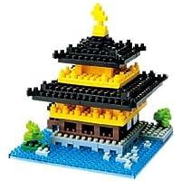 Set of 3 NanoBlock Micro-Sized Building Block Kits