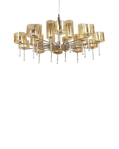 Control Brand The Osthammer Chandelier, Black