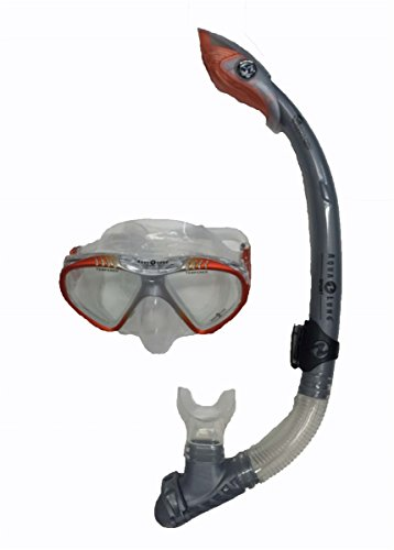 Aqua Lung PRO Series Soft Purge Scuba Mask and Dry Top Snorkel with Whistle (Aqua Lung Sport Pro Series compare prices)