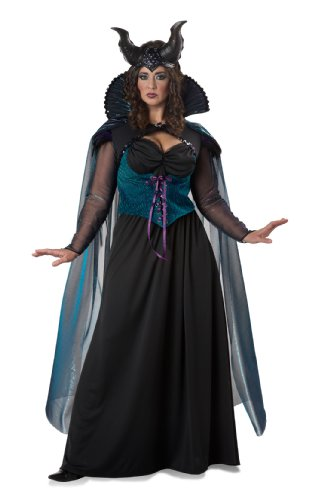 California Costumes Women's Plus-Size Storybook Sorceress Plus