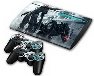 510 best stickers® Fa Cool Body Decal Skin Sticker for PS3 PlayStation Super Slim 4000+Controllers (Ps3 Super Slim Cool compare prices)
