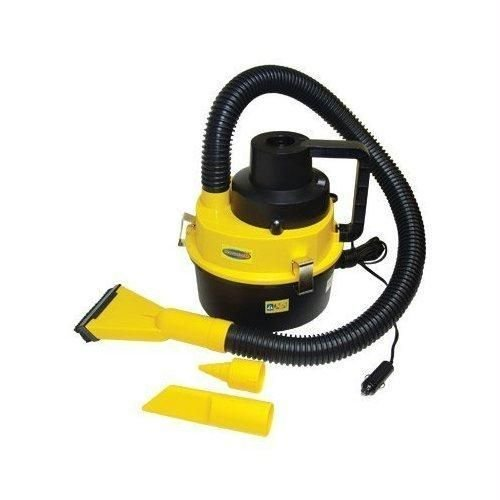 Xett 12V Wet / Dry Canister In-Car Vacuum Cleaner Caravan Vans Boats With Inflator front-450321