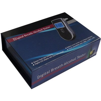 3 Digitales Affichage Lcd Testeur D'Haleine D'Alcool Analyseur