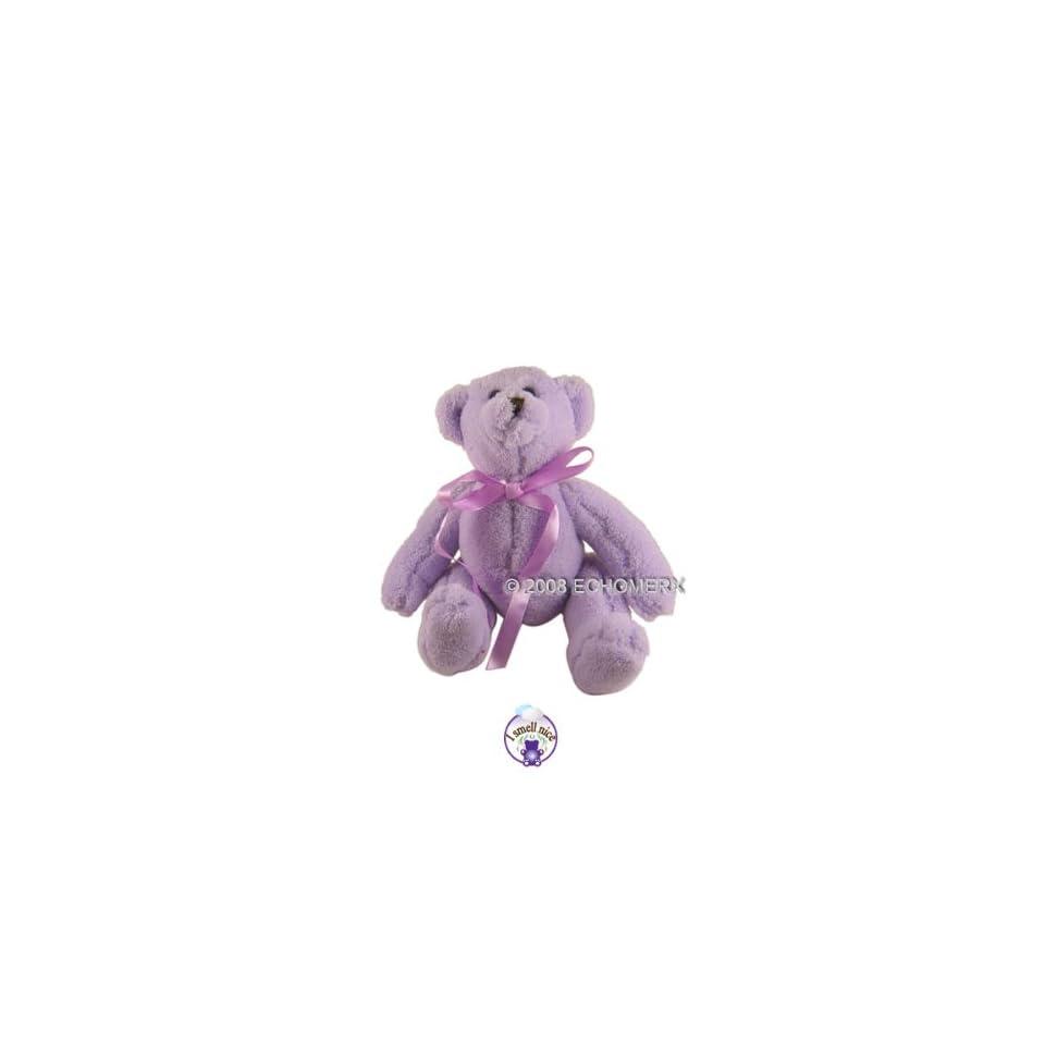Lavender Teddy Bear  Aromatherapy Stuffed Animal (S)