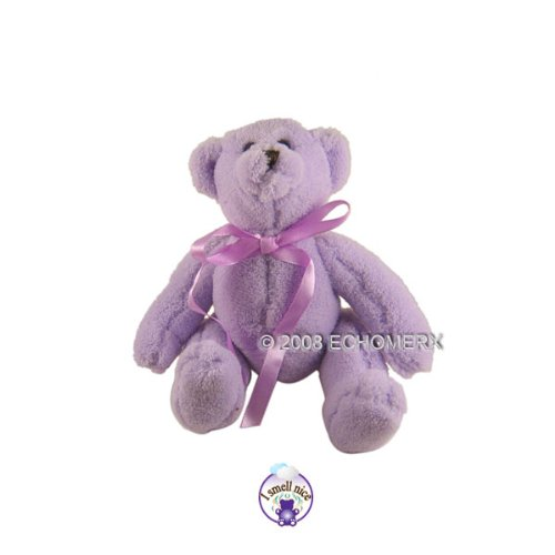 Lavender Teddy Bear- Aromatherapy Stuffed Animal (S)