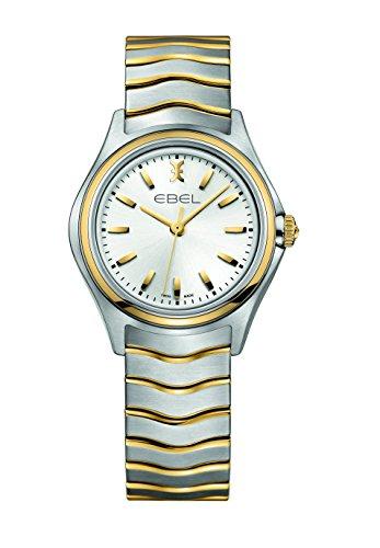 Ebel Ebel Wave Lady-Reloj de pulsera analógico para mujer cuarzo acero inoxidable 1216195