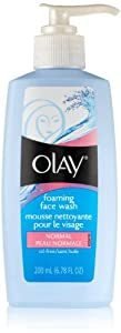 Olay Foaming Face Wash  Normal 6.78 Oz (Pack of 2)