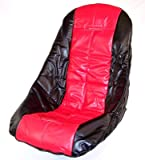 LOW POLY SEAT COVER, RED, dune buggy vw baja bug
