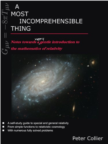 Peter Collier - A Most Incomprehensible Thing: Notes Towards a Very Gentle Introduction to the Mathematics of Relativity