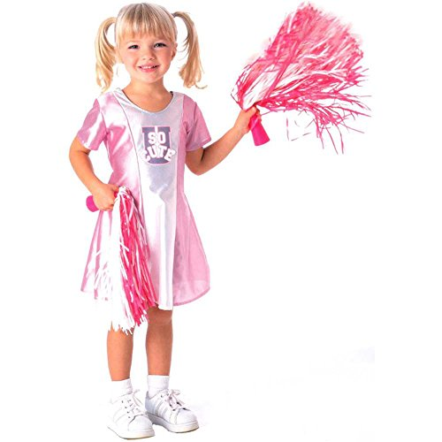 Toddler Pink & White Cheerleader Costume - Toddler