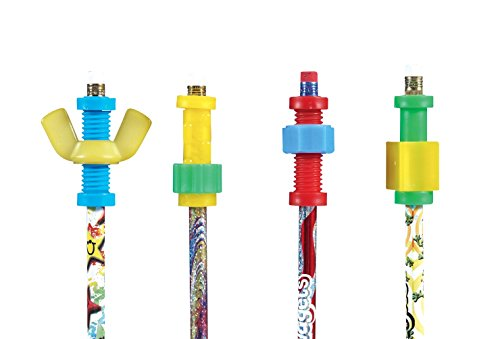 school-specialty-3568-abilitations-pencil-set-with-fidgets-assorted-set-of-4