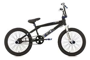 BMX freestyle 20'' Boost noir bleu KS Cycling