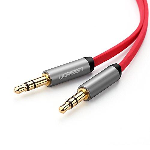 ugreen-cable-35mm-plano-delgado-auxiliar-audio-estereo-para-iphone65s5-ipad-smartphones-tablets-y-re