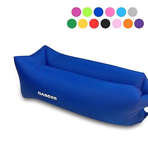 Inflatable Lounger Air Filled Balloon Furniture Hangout Bean Bag