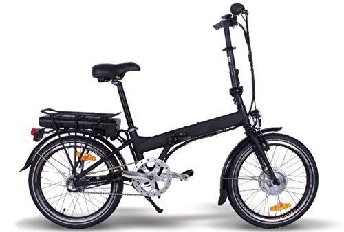 20″ Elektro Klappfahrrad E-GO! QUICKLINE 250W E-Bike City Bike Klapprad Cannes