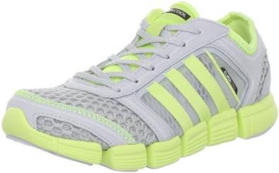 adidas CC Oscillation Running Shoe (Big Kid),Clear Grey/Ultra Glow/Ultra Glow,4 M US Big Kid