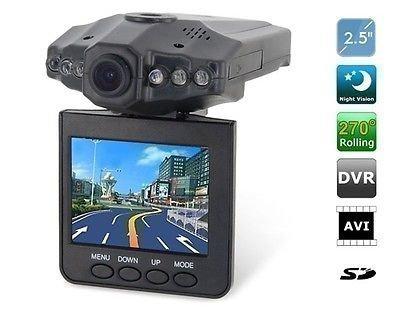 """HD DVR Recorder Videoregistrator Registrator Auto Kamera Dashcam Carcam Blackbox Nachtsicht Unfallkamera Videokamera CamCorder †berwachungskamera †berwachung G-Sensor + Bewegungserkennung Deutsches Menue KFZ 2,5"""" TFT LCD Screen Service2mm"""