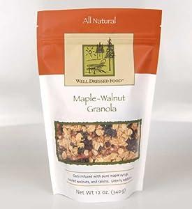 Maple-Walnut Granola
