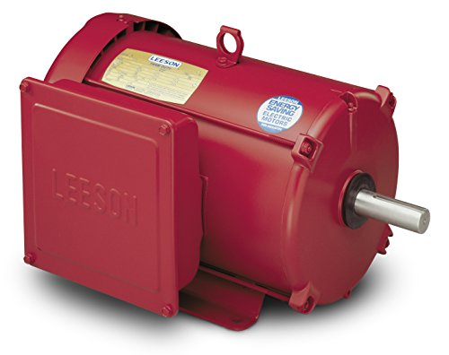 10Hp 1740Rpm 215T Frame 230Volts (Farm Duty) Extra High Torque Leeson Electric Motor # 140414