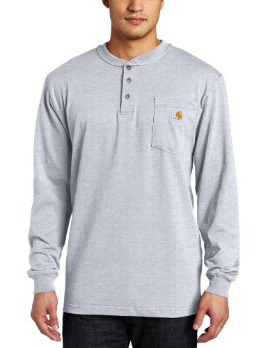 Carhartt Men's Long Sleeve Workwear Henley Shirt