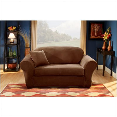 Offer Bundle 78 Stretch Pique Separate Seat Sofa Slipcover Box