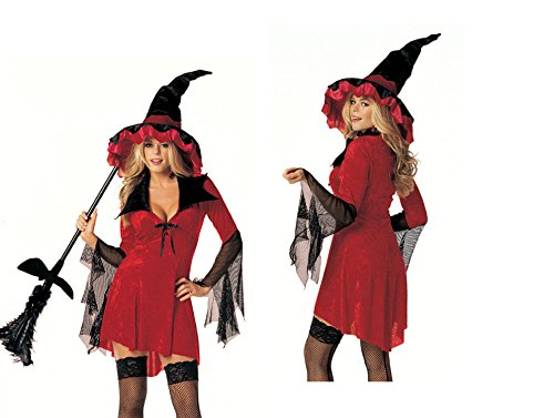 Witchy Woman Sexy Holiday Party Costume