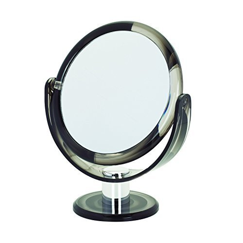 Danielle Creations Grey Swirl Round Vanity Mirror 17 cm by Danielle Creations