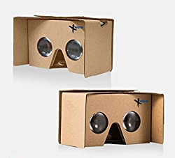 Xware DSCVR 3D Google Cardboard VR 2.0 Headsets For 4.7 to 6 inches Smartphones - 3D Glasses, NFC. From the makers of Internationally renowned I AM CARDBOARD