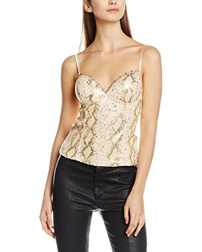 Rare London Top Metallic Sequin Bralet
