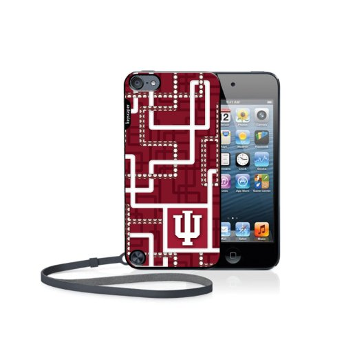 Indiana Hoosiers Ipod Touch 5G Case Pipes Ncaa